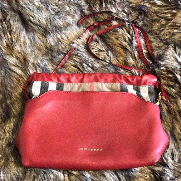 Burberry Handbags - Burberry Drawstring Check Crossbody Bag 8379510385